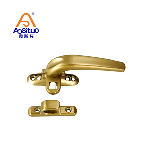 The lowest price gold lockable opening casement window handle