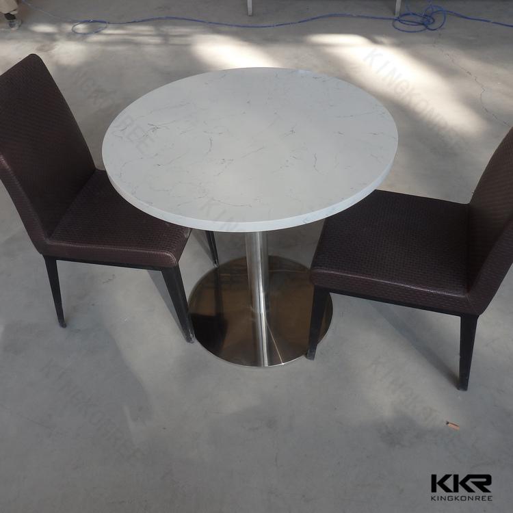 runde künstliche marmorplatte esstisch, granit runden esstisch, Esstisch ideennn