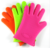2017 New cheap 5finger kitchen silicone gloves for BBQ