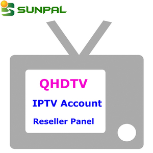 Hot Selling Reseller Panel Free Test Code Arabic French African IPTV  Account 1 Year European QHDTV Arabic IP TV Subscription
