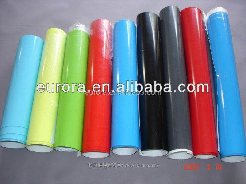 Colorful Overlay Film for seamless pocket,sewfree products decoration