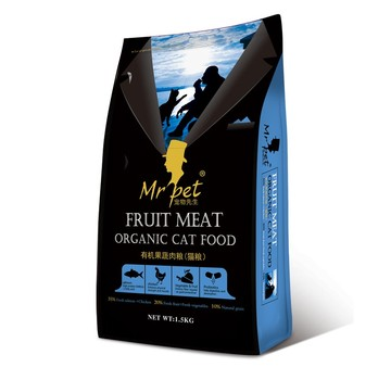 Wholesale pet diet distributor Delicious Organic feline food