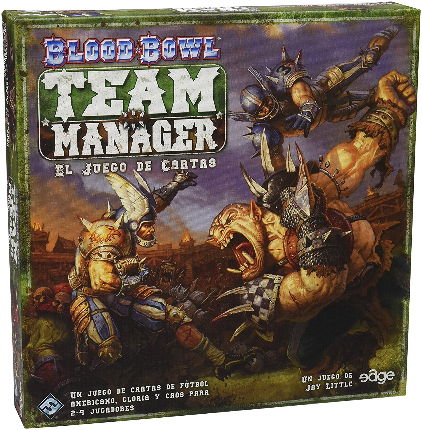 Blood Bowl Team Manager: The Card Game