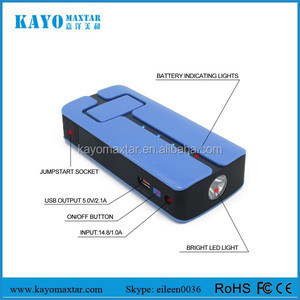 Car jump starter power bank 11000mAh 35C discharge battery