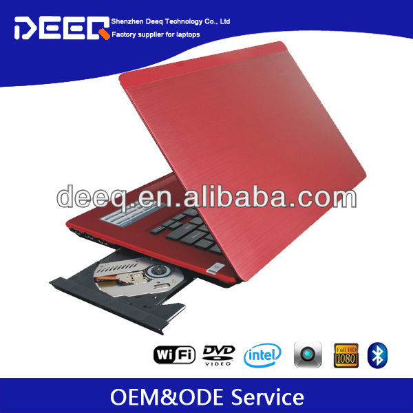 "Chinese cheap Laptop with Camera 14.0"" Metal Case Dual Core 4G RAM 500G HDD on wholesale"