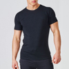 essential stretch tapered fitness tshirt for men