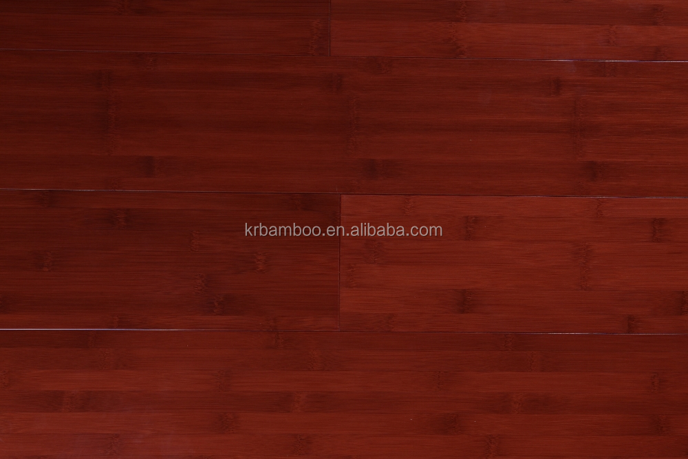 Floating Bamboo Flooring Red Cabreuva Color Bamboo Flooring with 15mm Thickness for Indoor Use-KE-H07016
