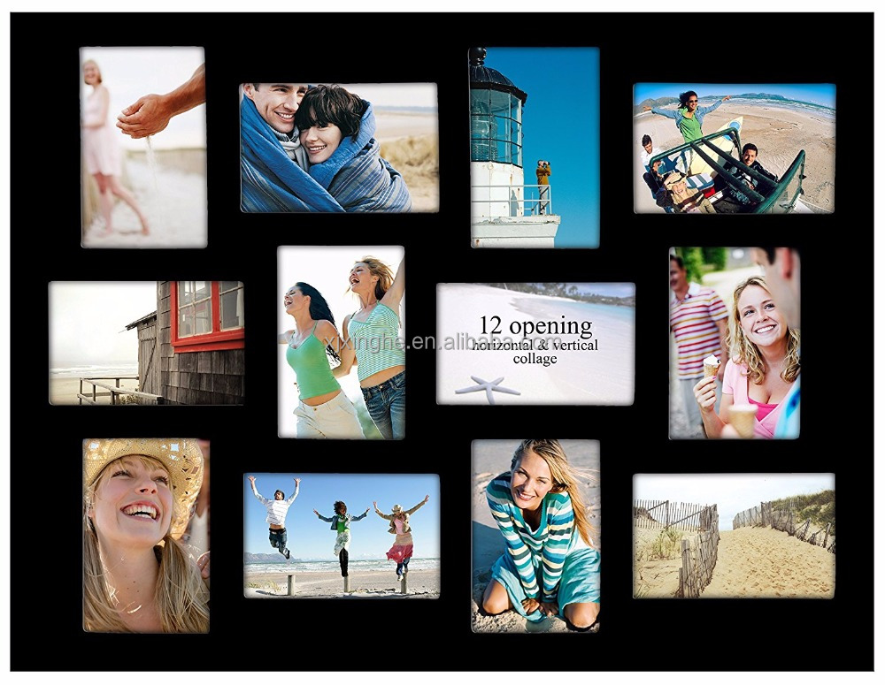 Large Family Collage Picture Frames With Multi Openings - Buy ...