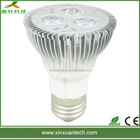 Beautiful color diammble 6w led par 20 spot lighting