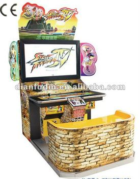 3d Street Fighter Iv Arcade Cabinet Video Fighting Games - Buy ...