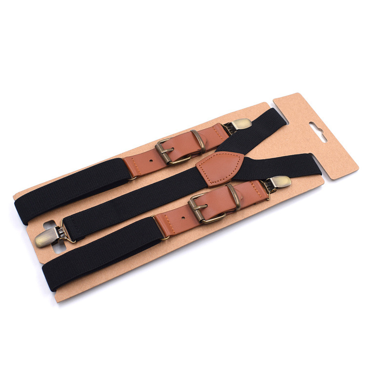 Amazon Hot Sell Fashion elastic <strong>Men's</strong> <strong>Suspenders</strong> Braces <strong>suspenders</strong>