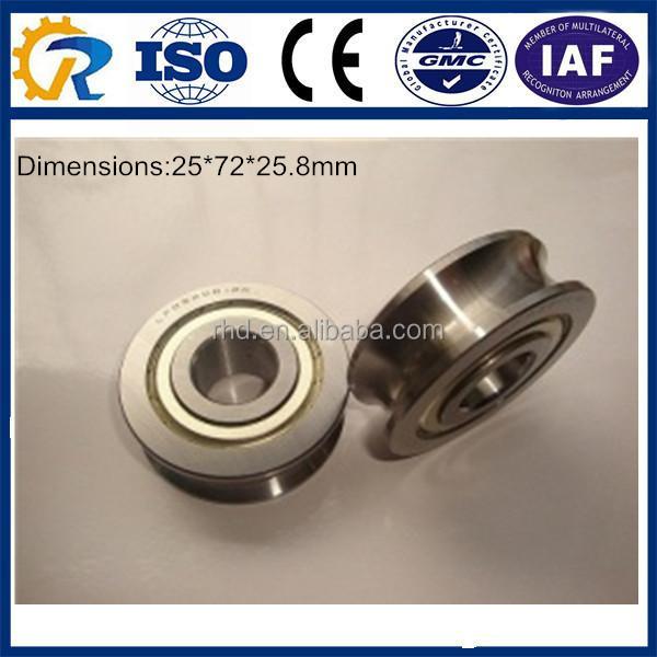 LFR5302KDD 15mm ID x 10mm U Groove Track Roller Bearing Track Bearings 9477