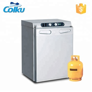 Foshan Colku 3 Way Absorption Upright 43L 60L Caravan Gas Fridge For Camping