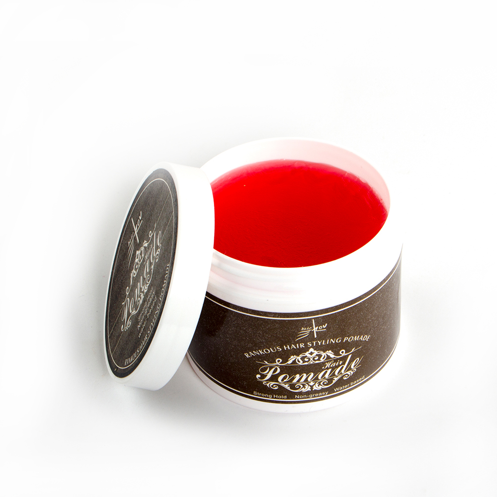 Wasser Basiert bunte haar pomade fabrik private label rand control pomade wachs