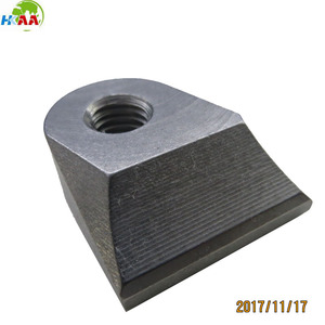 Custom CNC milling solid steel tremolo block casting steel container corner  block