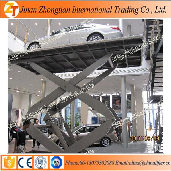 Cheap Scissor Car Lift Parking Equipment Double Car Lift For Home
