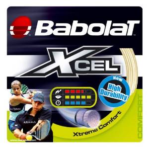 Babolat Xcel 16-Gauge Tennis String (Natural)