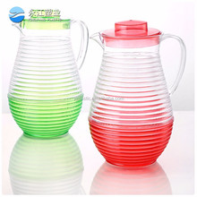 wholesale antique hot sale water kettle drinkware type glass water jug 2016 fashion plastic water jug