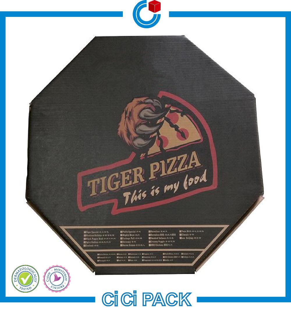 Protable conception dur papier carton bo te pour pizza for Fourniture pizzeria