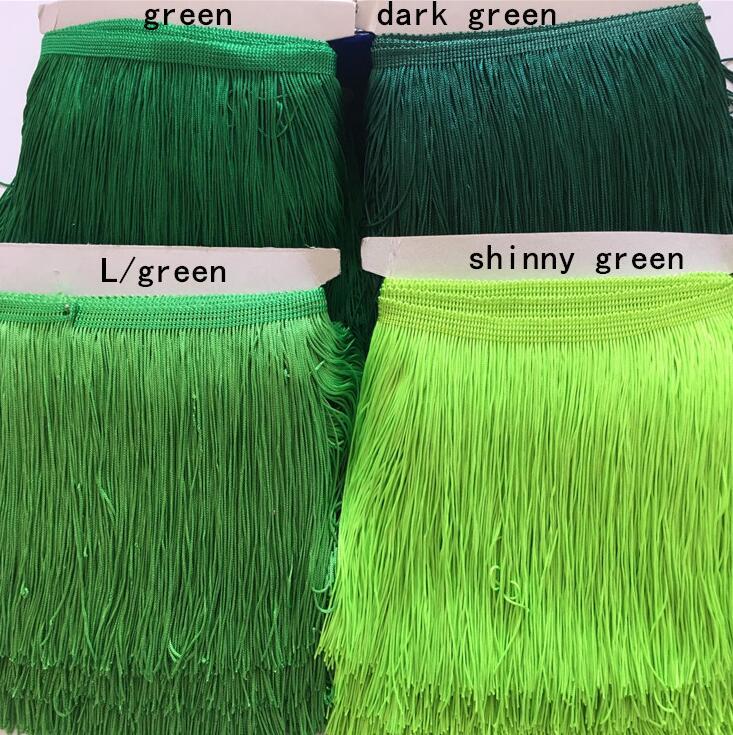 Pink Tassel fringe 100% Polyester tassel lace trim for clothes