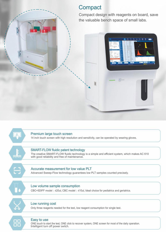 Mslab23 Laboratory Equipment 27 Parameter Hematology Analyzer Price,5-part  Hematology Analyzer For Sale - Buy Hematology Analyzer,Hematology Analyzer