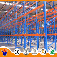 Steel gravity pallet flow racking with CE