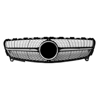 for Benz A Class W176 16-IN Diamonds style Front Grille grill