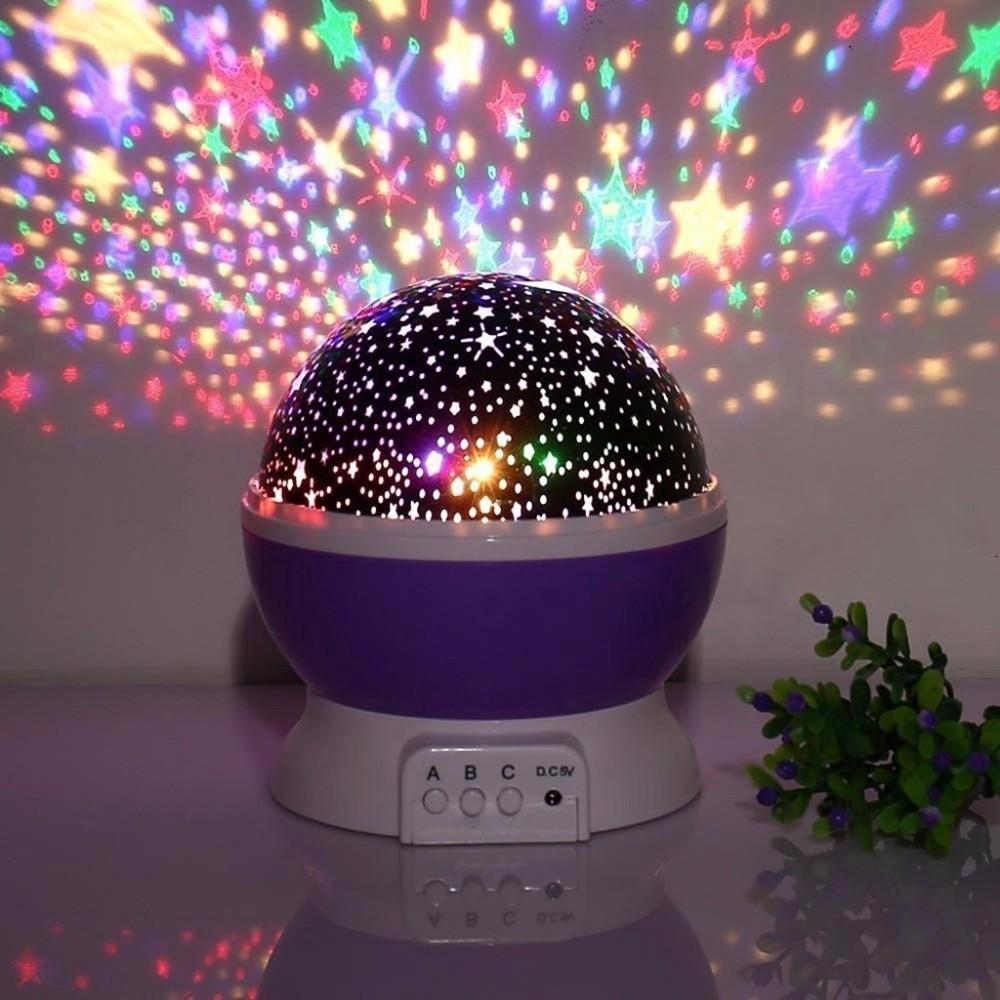 d3ab2d2b7fe7 Romantic LED Starry Night Sky Projector Lamp Kids Gift Star light Cosmos  Master