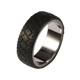 titanium silver 316l stainless steel rings whole sale men carbon fiber ring