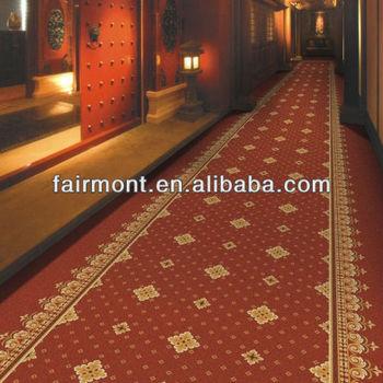 5 Star Hotel Luxury Corridor Carpet 80 Wool 20 Nylon