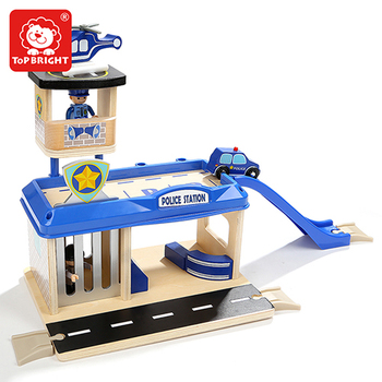 Topbright kids role play police station play set toys 120336