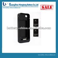2020mAh Mobile Battery Power Pack Case for iPhone 4/4S