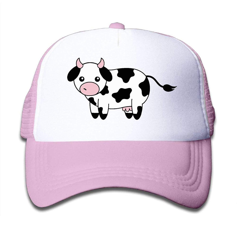 Cartoon Animal Cute Goat Horns Mesh Caps Adjustable Unisex Snapback Trucker Cap