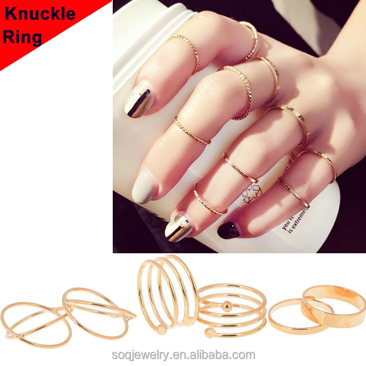 Personality fashion female little finger ring tail ring plating knuckles girlfriends buddhist monastic knuckle ring