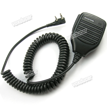 Baofeng shoulder microphone for UV-5RE UV-5RD UV-5RC UV-5R+ BF-666S BF-777S BF-888S UV-B5 UV-B6 UV-5RA UV-5RB UV-5RE+