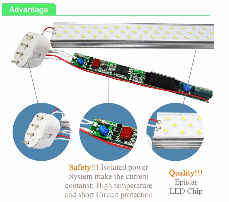 2835 smd 12w 4 pin pll lamp 2g11 led