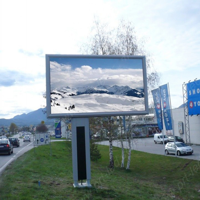 p6 led display panels outdoor advertising led display screen