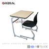 orizeal 2017 new USA professional high quality metal student desk and chair