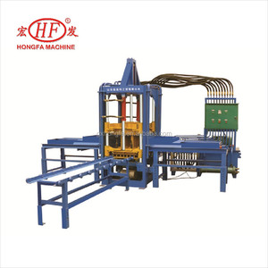 QTF3-20 Automatic Hydraulic Hollow Cement Concrete Block Brick Paver Paving Making Machine