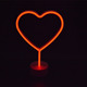 Factory Supplier Neon Signs Illuminated Sign Heart Led Decoration Letter Light