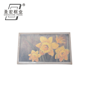 Handpainted Modern Art Canvas Flower Oil Painting Without Frame Beautiful Picture Of Flowers