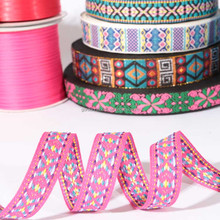 Factory directly sale jacquard ribbon/ethnic ribbon/embroidery ribbon