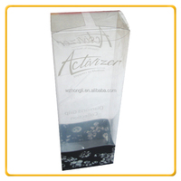 Custom gift Foldable Clear plastic PVC Packaging Box