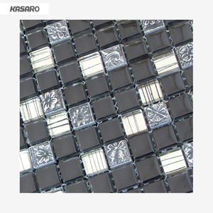 Glass Stone Mosaic KASARO For Wall Tile Carving Stone
