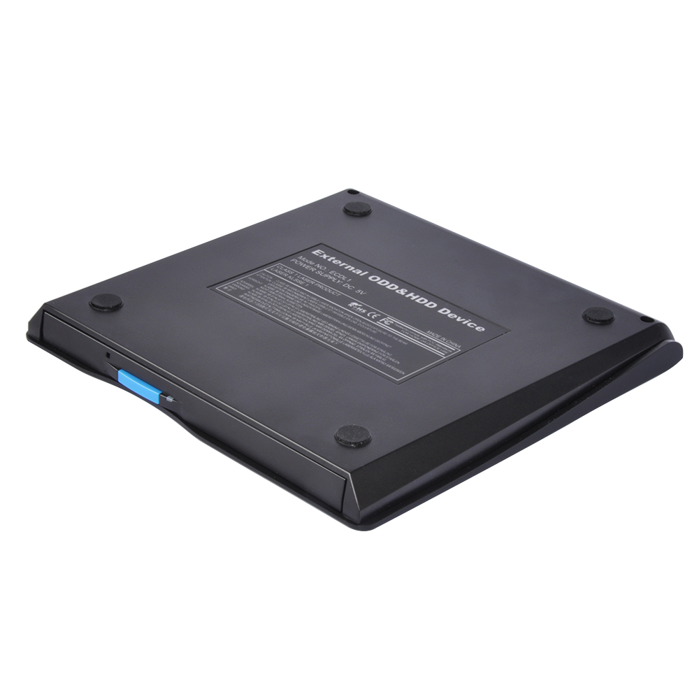 External portable dvd rw/dvd rom 9.5mm Optical drive for laptop
