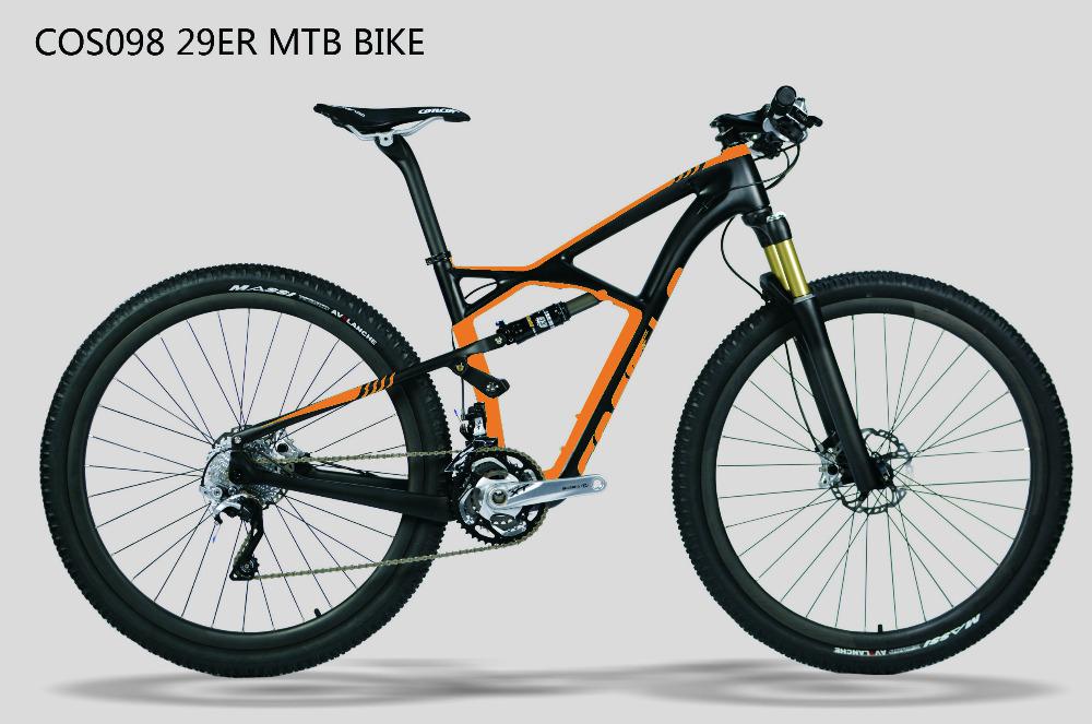 cos098 costelo 29er suspension bike vollcarbon mtb fahrrad mtb rahmen federung 29er. Black Bedroom Furniture Sets. Home Design Ideas