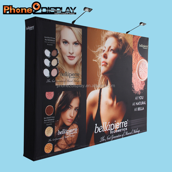 8ft hot sale pop up display banner wall