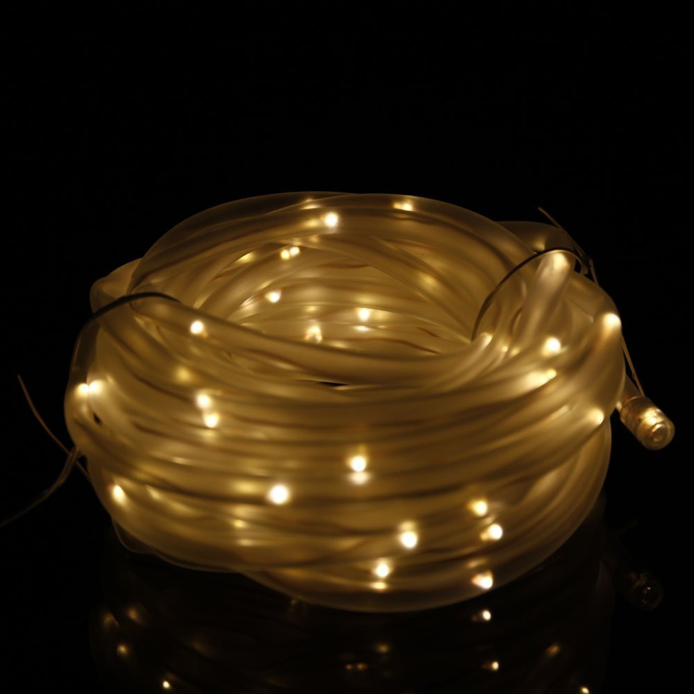 Cheap warm white led rope light find warm white led rope light solar led rope lights ksleder 12m 39ft led waterproof fairy string outdoor decoration lighting aloadofball Gallery
