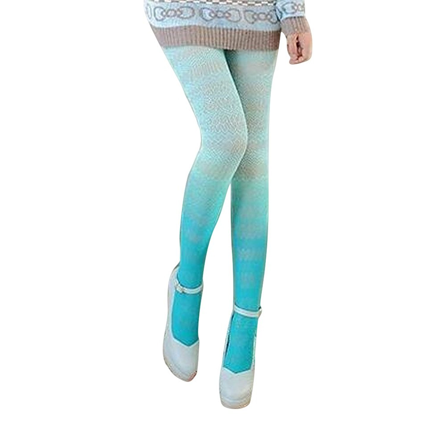 33b2ef478 Get Quotations · Generic Womens New Fishnet Tights Lace Pantyhose Gradients  Colored Sexy Hosiery Colorful Mesh Tights