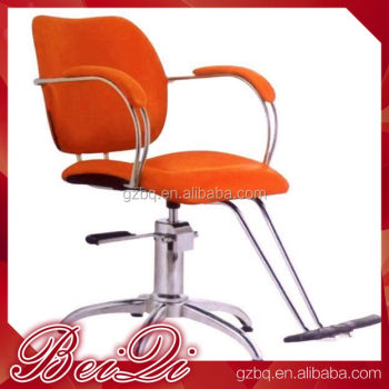 Orange portable hair styling chair wholesale beauty salon equipment china barber chair for sale - Wholesale hair salon equipment ...